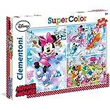 Disney - Puzzles, 3 x 48 piezas, diseño Minnie Sport (Clementoni 251988)