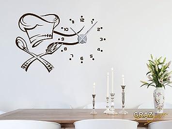 D co cuisine horloge - Horloge de cuisine design ...