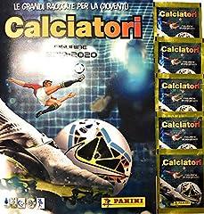 Idea Regalo - Album + 5 BUSTINE di Figurine CALCIATORI PANINI 2019/2020 (Tot. 30 Figurine)