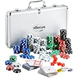 eSecure Professional Poker Set 11.5g pcs & Aluminium Carry Case