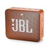 JBL GO 2 - Mini Enceinte Bluetooth portable - Étanche pour piscine & plage IPX7 - Autonomie 5hrs - Qualité audio JBL - Orange