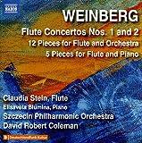 WEINBERG, M.: Flute Concertos Nos. 1 and 2/ 12 miniatures/ 5 Pieces For Flute And Piano