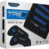 Super Retro Trio Plus HD Royal Blue PAL Version Retro-Bit Europe (Electronic Games) [Edizione: Regno Unito]