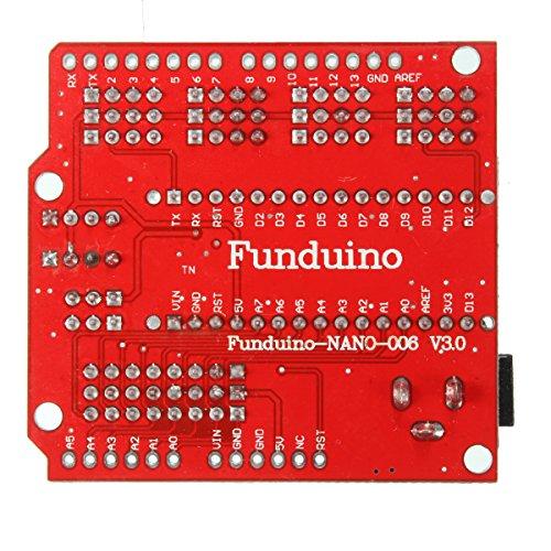 61uroi08j2L - WINGONEER® Expansion Prototype Shield Módulo de placa de extensión de E/S para Arduino Nano V3.0