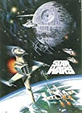 Star Wars Space Battle Poster Mehrfarbig