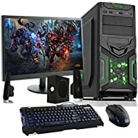 Fierce Haswell Quad Core Custom Gaming PC Bundle - Keyboard, Mouse, Monitor, Speakers - i7 4790, GTX 750 Ti 2GB, 8GB of 1600MHz Performance DDR3 Memory, 1TB SATA3 Hard Drive - Home, Office, School, College, University - 213180