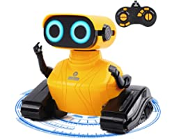 GILOBABY Rc Robot Toys, Remote Control Robot Toys, Walking&Dancing Kids Robot toys for Children Age 6 Year Old & Up Boy Girl