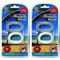 Sicher Reisen Urlaub Mosquito Bug Repellent Stretch Handgelenk Knöchel Armband Bands–(4Bands) preisvergleich bei billige-tabletten.eu