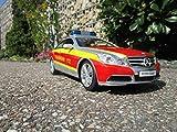 RC Mercedes Achtung Nur hier E350 Coupe Feuerwehr Auto 2,4 GHZ 1:16 405127