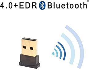 Ultima Gold Plated Micro Classic USB Bluetooth 4.0+EDR Dongle Adapter Transmitter.