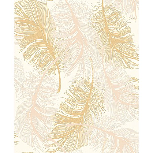 coloroll-feather-blown-vinyl-wallpaper-in-gold-cream-m0926-sample