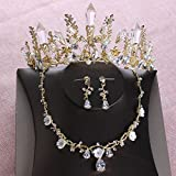 Die besten Freund Ketten Threes - Gorring Necklace Bridal Headwear Three Sets Of Air Bewertungen
