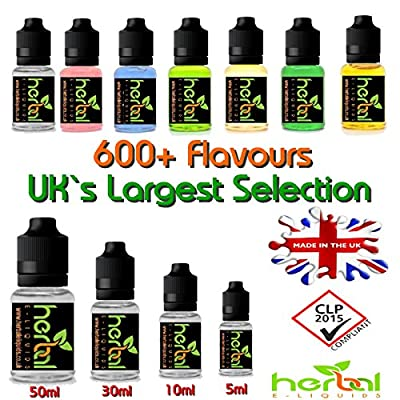 Hanf Weed Herbal E Liquid 30ml 100% VG 0mg Nikotin von Mountain Fresh