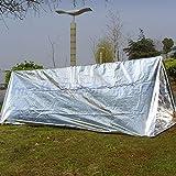 Unicoco manta de supervivencia de emergencia protectora salvavidas para Camping randon/ée etc 130/* 210/cm