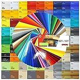 Finest Folia (6€/m²) Plotterfolie auch als Möbelfolie glänzend Glanz Klebefolie Küchenfolie (082 Beige, 5 Meter)