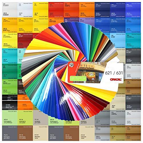 18,89€/m² Din A4 Bogen 30x21cm Oracal 621/631 Plotterfolie Folie Vinyl Autofolie (053 Hellblau, 631 Matt)