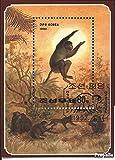 sellos para coleccionistas: norte-Corea Bloque 267 (completa.edición.) matasellado 1992 año del monos