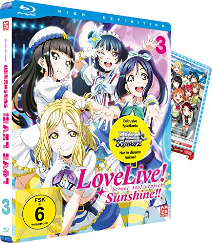 Love Live! Sunshine! Vol. 3 [Blu-ray] (Project M Kostüm)