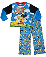 ThePyjamaFactory Disney Boys Mickey Mouse and Pluto Pyjamas 1 to 6 Years W15