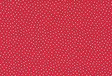 Westfalenstoffe * Junge Linie * Rot-Rosa Pünktchen * 100 x