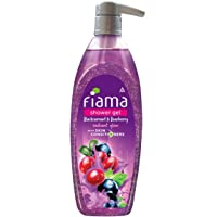 Fiama Shower Gel Blackcurrant & Bearberry Body Wash with Skin Conditioners for Radiant Glow, 500 ml pump