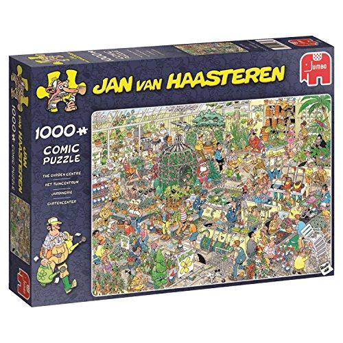Jumbo 19066 - Jan Van Haasteren Garden Centre 1000 Teile Puzzle