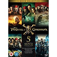 Pirates of the Caribbean 1-5 Boxset