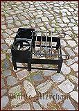 Craticula, römisches Kochgestell, Stahl - Kochen auf dem Lagerfeuer - Mittelalter - Römer - LARP