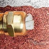 Außenwandlampe Messing Maritim Glasschirm Käfig IP64 Schiffslampe Außenleuchte Robust Hauswand Balkon - 6