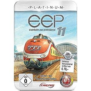 EEP Train Simulator: Eisenbahn.exe 11 Platinum in dekorativer Metall-Reliefbox (Eisenbahnspiel)