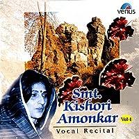 Smt. Kishori Amonkar, Vol. 1
