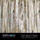 Wassertransferdruck Design Folie ARTwork Cabin Wood 1m Breite