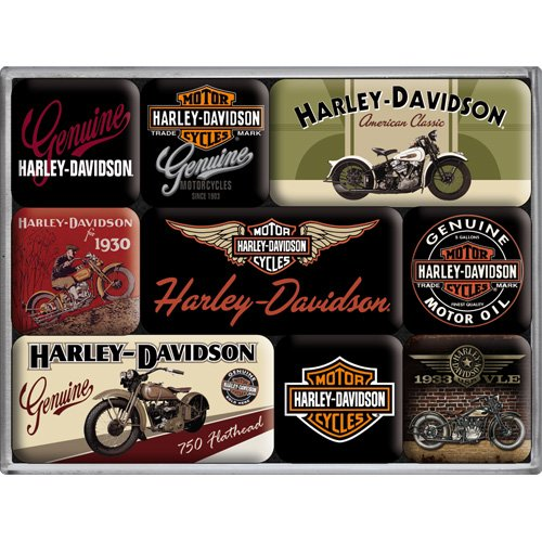 9-mini-magnets-harley-davidson