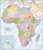 Large Africa wall map - Encapsulated (Global Mapping Continental wall maps)