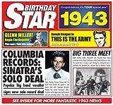 1943 Geburtstags-Geschenke - 1943 Chart Hits CD und 1943 Geburtstagskarte