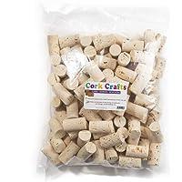 Cork Crafts Bouchons à vin pour l'artisanat, la décoration et Le Bricolage, Bouchons en liège Naturel 24 x 45 mm (Clair…