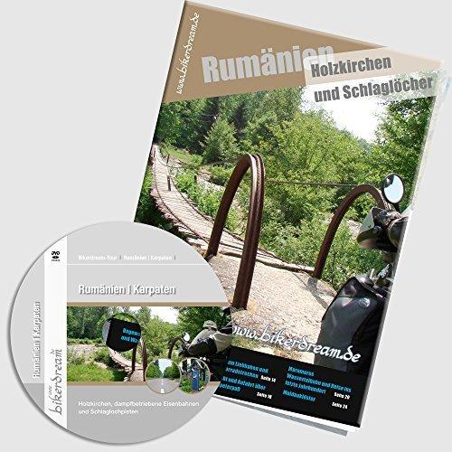 Set: DVD/Video + gedruckte Tourstory + GPS-Daten: Motorradtour durch Rumänien