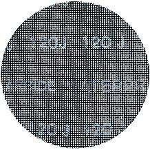 Black+Decker X39252-XJ - Set de 3 hoja de malla velcro para lijadora circular 125 mm, grano 80