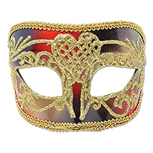 Red/Gold Male Mask (máscara/careta)