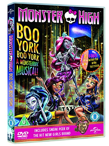 Image of Monster High: Boo York! Boo York! (includes Monsterific Gift) [DVD] [2015]