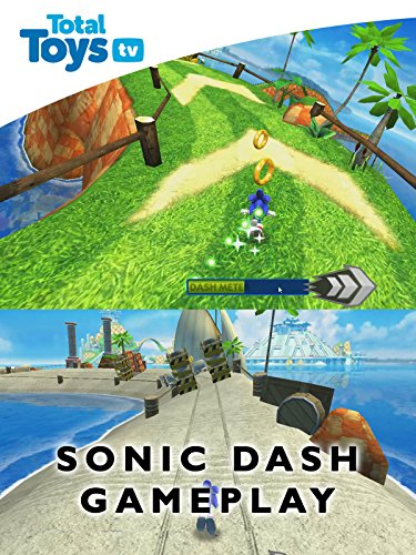 Image of Sonic Dash App Gameplay and Commentary