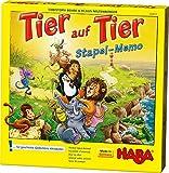 HABA 302812 - Tier auf Tier – Stapel-Memo