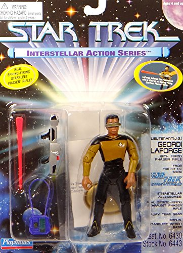 Preisvergleich Produktbild Lieutenant (J.G.) Geordi Laforge Interstellar Series - Actionfigur - Star Trek The Next Generation von Playmates
