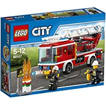 LEGO City - Camión de bomberos con escalera (60107)