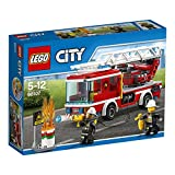 #1: Lego Fire Ladder Truck, Multi Color