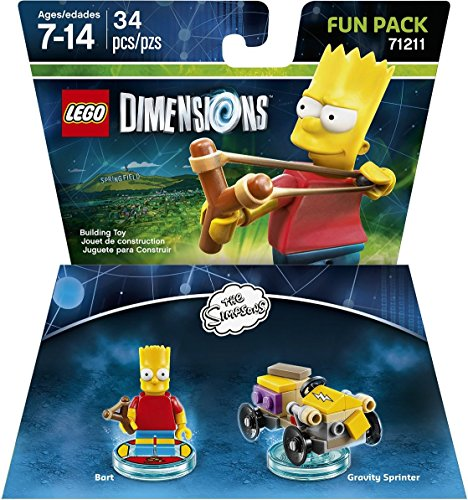 LEGO Dimensions, Simpsons Bart Fun Pack by Warner Home Video - Games