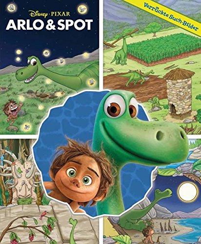 Preisvergleich Produktbild Arlo & Spot: The Good Dinosaur - Verrückte Such-Bilder, Hardcover-Wimmelbuch