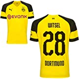 Puma BVB Borussia Dortmund Fußball Home Trikot Heimtrikot 2018 2019 Herren Kinder mit Spieler Name