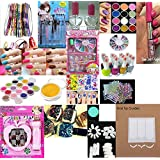 All In One Nail Art Kit- 1/ Nail Tool Kit/ Complete Gift For Girls, Women Birthday/ Anniversary ,Valentine Gift...