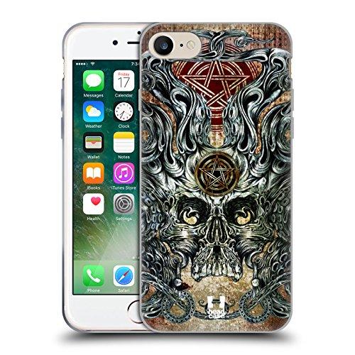 Head Case Designs Barattolo Di Sogni Barattoli Cover Morbida In Gel Per Apple iPhone 7 / iPhone 8 Polipo